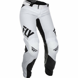 Fly Racing Women's Lite Pants Fly Racing Off-Road White/Black 00/02