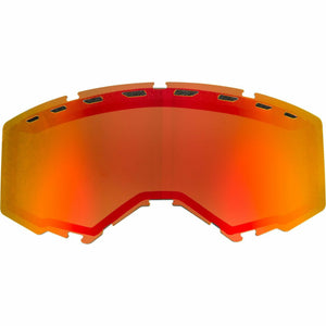 Fly Racing 2019 Zone/Focus Snow Goggle Replacement Vented Lens Accessories Fly Racing RED MIRROR/BROWN