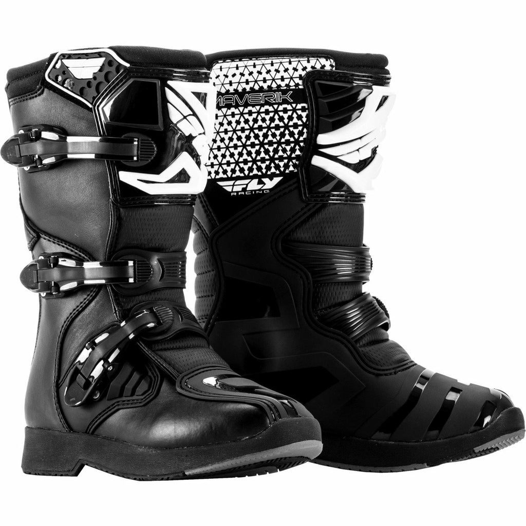 Fly Racing Youth Maverick MX Boots | Sale Footwear Fly Racing BLACK Youth 06
