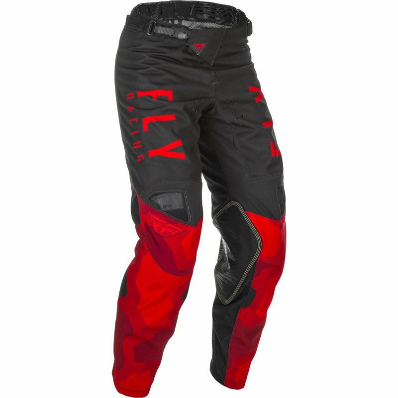 Fly Racing Youth Kinetic K221 Pants 21 Fly Racing 2021 RED/BLACK 18