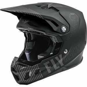 Fly Racing Youth Formula CC Primary Helmet 21 Fly Racing 2021 BLACK/GREY YL