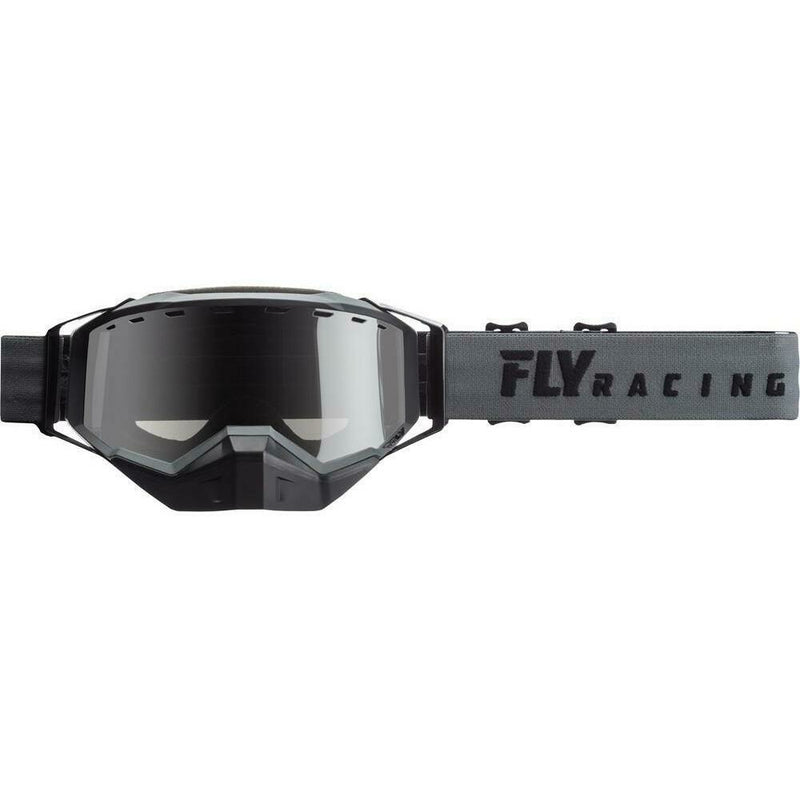 Fly Racing 2019 Zone Snow Goggle Goggles Fly Racing Black W/ Silver Mirror Rose