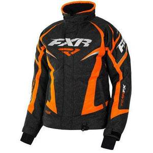 FXR Team Women's Jacket | Clearance Jacket FXR Black Heather/Tangerine 8