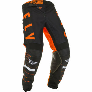 Fly Racing Youth Kinetic K120 Pants Fly Racing Off-Road Orange/Black/White 18