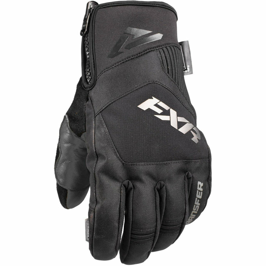 FXR Transfer Short Cuff Glove | Sale Gloves FXR Black Medium