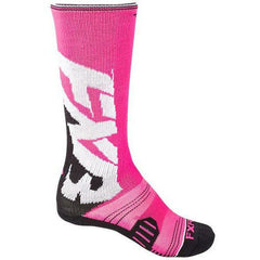 FXR Clutch Performance Women's Sock Footwear FXR Fuchsia/Black