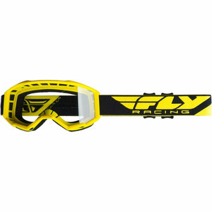 Fly Racing 2019 Focus Goggle Goggles Fly Racing YELLOW W/CLEAR LENS Youth
