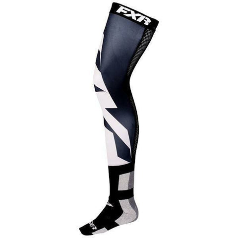 FXR Clutch Riding Sock 2019 Footwear FXR Black/White