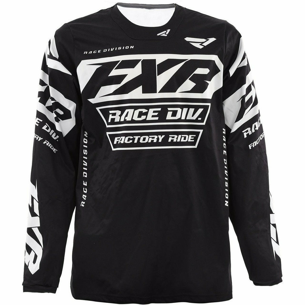 FXR Cold Cross RR Jersey 2020 Jersey FXR Black XS