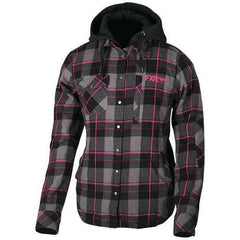 FXR W Timber Plaid Insulated Jacket 2019 Jacket FXR Charcoal/Fuchsia XS