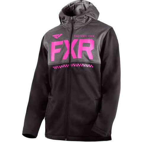 FXR Helium Youth Softshell Jacket Jacket FXR Black/Elec Pink XS