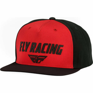 Fly Racing Evo Hat 21 Hat Fly Racing RED/BLACK OS