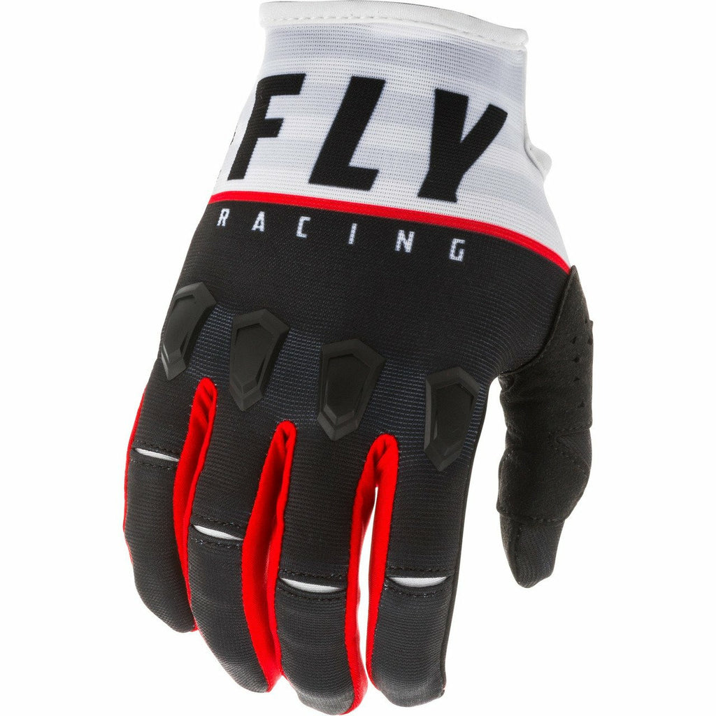 Fly Racing Kinetic K120 Gloves Fly Racing Off-Road Black/White/Red 7