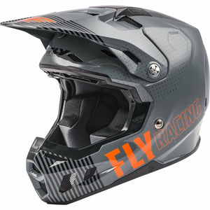 Fly Racing Youth Formula CC Primary Helmet 21 Fly Racing 2021 GREY/ORANGE YL