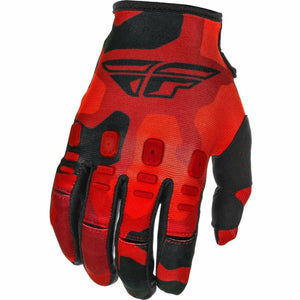 Fly Racing Youth Kinetic K221 Gloves 21 Fly Racing 2021 RED/BLACK 4