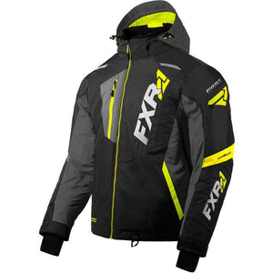 FXR Mission FX Men's Jacket 2020 Jacket FXR 2020 Black/Char/Hi Vis XS