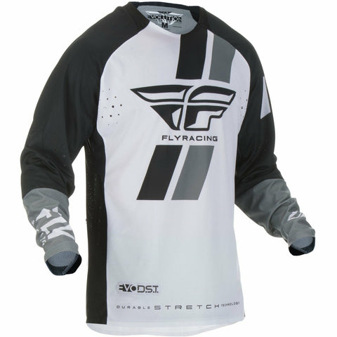 Fly Racing Evolution DST Jersey Jersey Fly Racing BLACK/WHITE SM