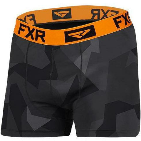 FXR Helium X Tech Boxer 2020 Layers FXR 2020 Char Camo/Orange S