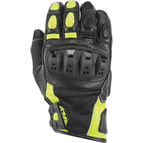 Fly Racing Brawler Gloves Gloves Fly Racing BLACK/HI-VIS 2X