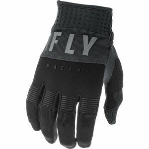Fly Racing Youth F-16 Gloves Fly Racing Off-Road Black/Grey 1