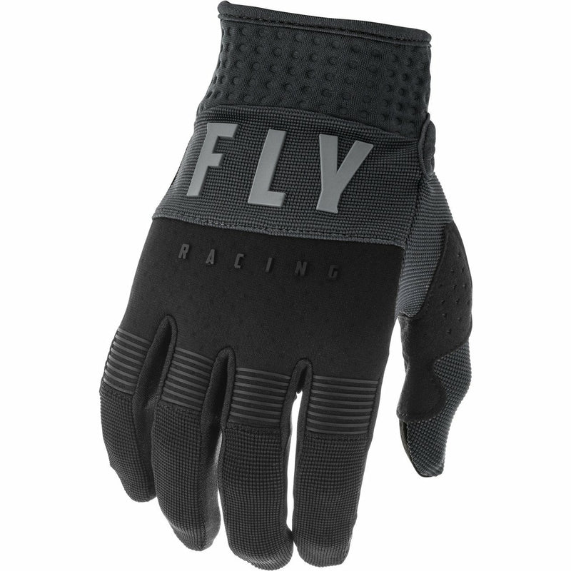 Fly Racing Youth F-16 Gloves Fly Racing Off-Road Grey/Black/Orange 1