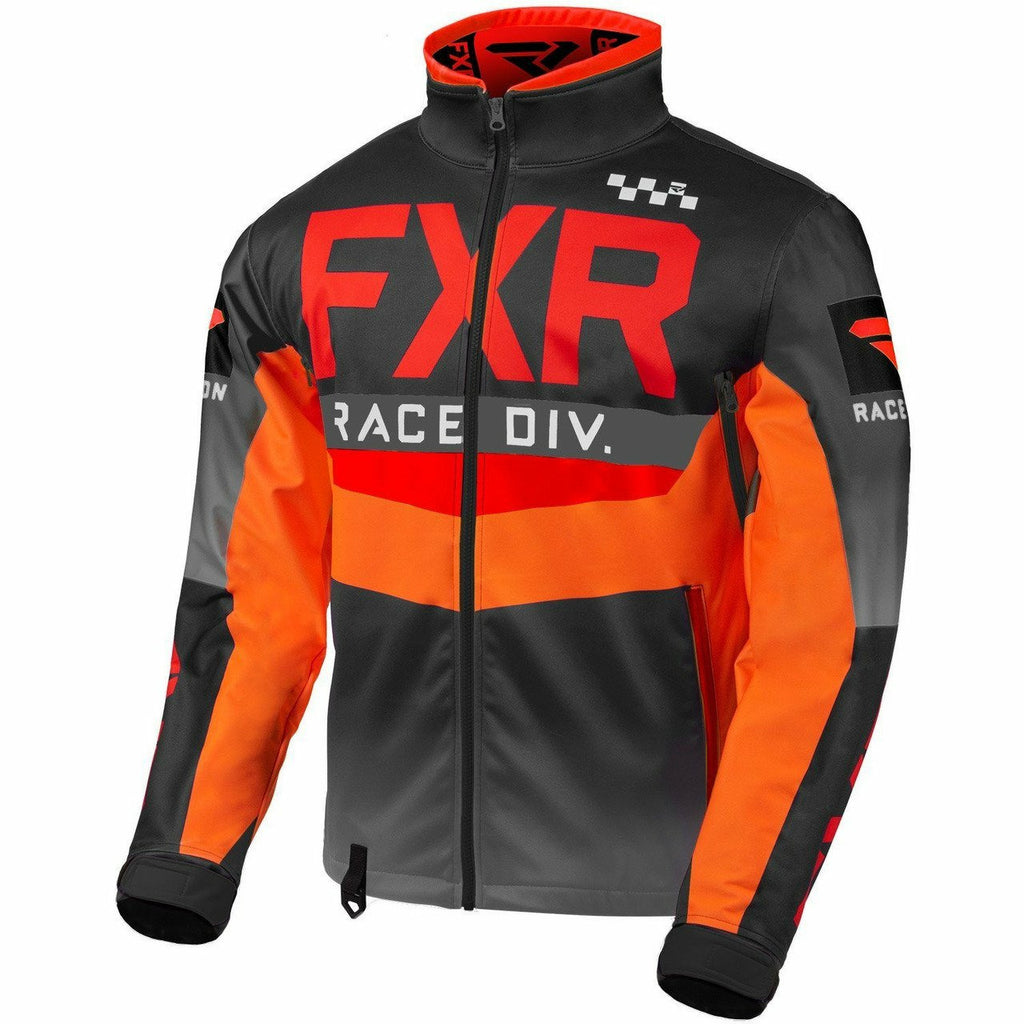 FXR Cold Cross RR Jacket 2020 Jacket FXR Red/Black/Orange/Char S