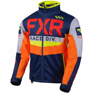 FXR Cold Cross RR Jacket 2020 Jacket FXR Navy/Lt Grey/Nuke/Orange/Hi Vis XXXS