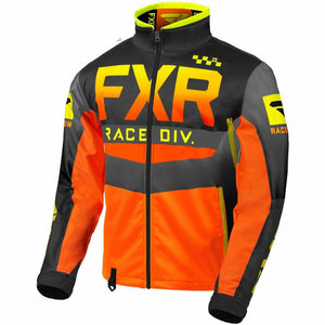 FXR Cold Cross RR Jacket 2020 Jacket FXR Hi Vis/Black/Orange/Grey XXXS