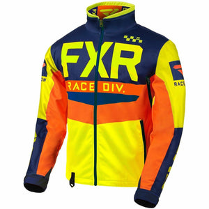 FXR Cold Cross RR Jacket 2020 Jacket FXR Hi Vis/Navy/Orange XXXS