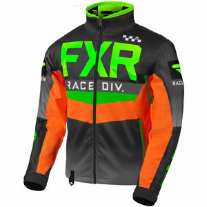 FXR Cold Cross RR Jacket 2020 Jacket FXR Lime/Black/Orange/Char XXXS