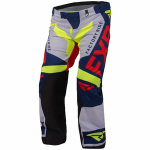 FXR Cold Cross RR Pant 2020 Pants & Bibs FXR Navy/Lt Grey/Nuke/Hi Vis XXXS