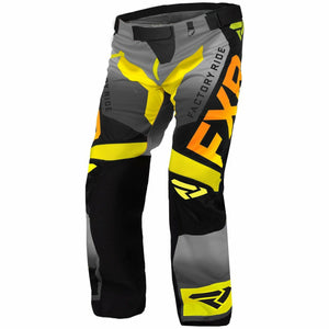 FXR Cold Cross RR Pant 2020 Pants & Bibs FXR Hi Vis/Black/Orange/Grey XXXS