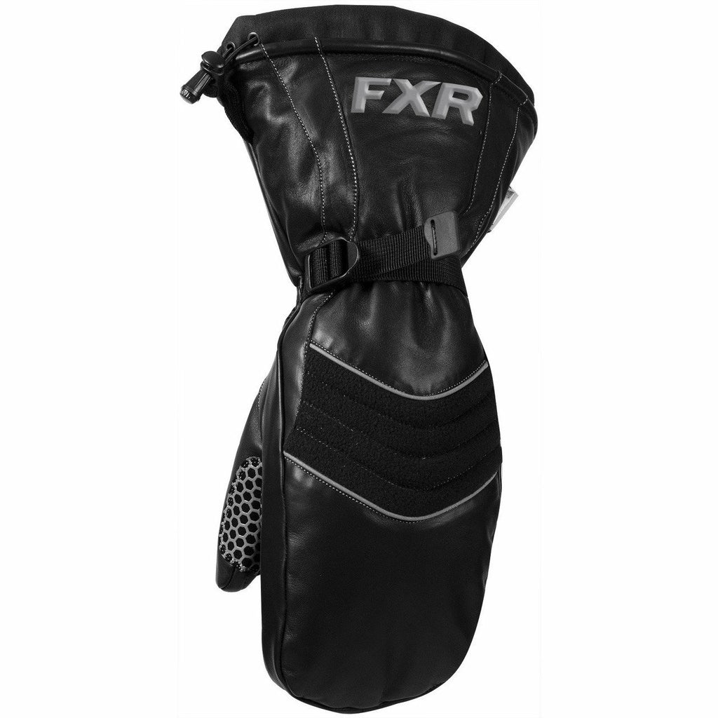 FXR Leather Mitt 2020 Gloves FXR Black XS