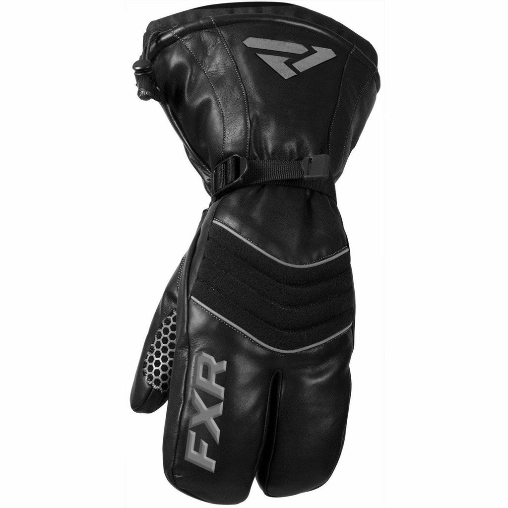 FXR Leather Claw Mens Mitt 2020 Gloves FXR Black XS