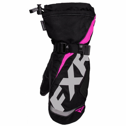 FXR Helix Race Child Mitt 2020 Gloves FXR Black/Fuchsia S