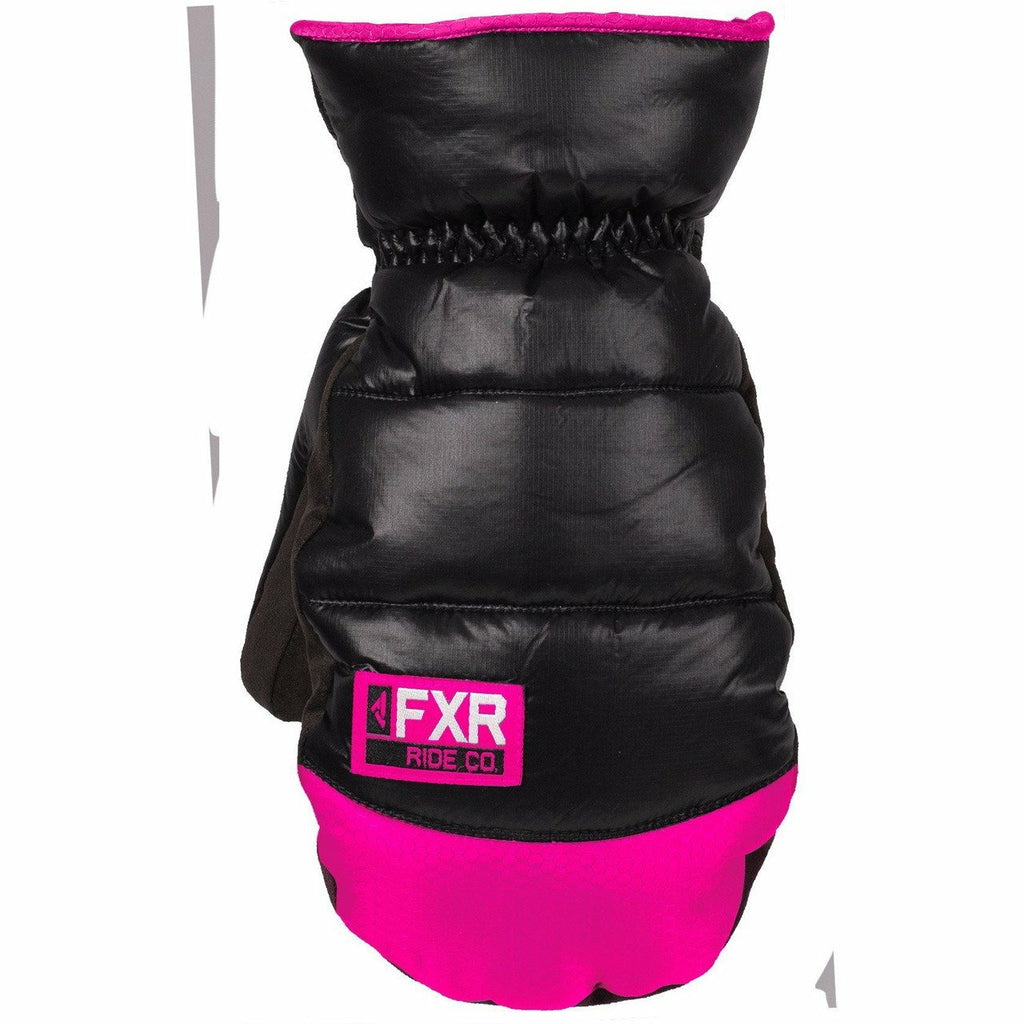 FXR Aspen Short Cuff Women's Mitt 2020 Gloves FXR Black/Fuchsia XS