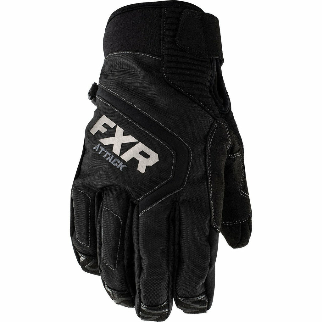 FXR Attack Lite Mens Glove 2020 Gloves FXR Black XXS