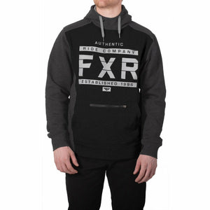 FXR Authentic Mens Pullover Hoodie 2020 Casual FXR Black/Char Heather S