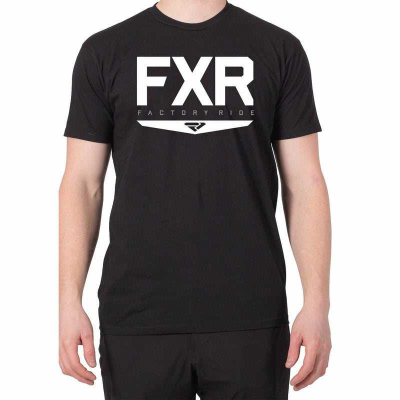 FXR Helium Mens T-Shirt 2020 Casual FXR Black/White S