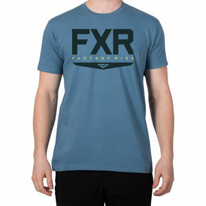 FXR Helium Mens T-Shirt 2020 Casual FXR Blue/Navy S
