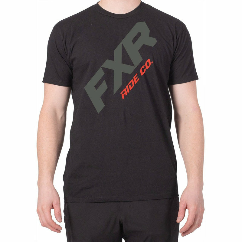 FXR CX Mens T-Shirt 2020 Casual FXR Black/Red S