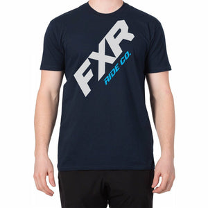FXR CX Mens T-Shirt 2020 Casual FXR Navy/Blue S