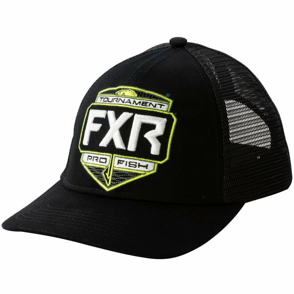 FXR Tournament Hat 20 Hat FXR Black/Hi Vis