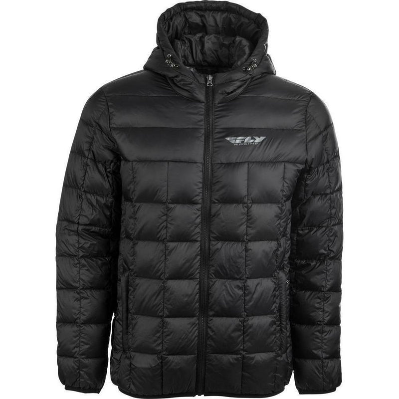 Fly Racing Spark Down Jacket 2020 Jacket Fly Racing BLACK SM
