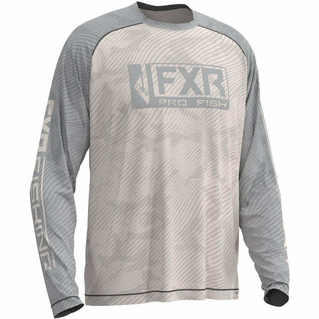FXR M Strike Air UPF Longsleeve 20 Casual FXR OFFROAD Bone/Grey 2XL