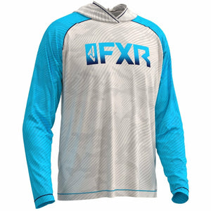 FXR M Attack Air UPF Lite PO Hoodie 20 Casual FXR Bone/Sky Blue 2XL