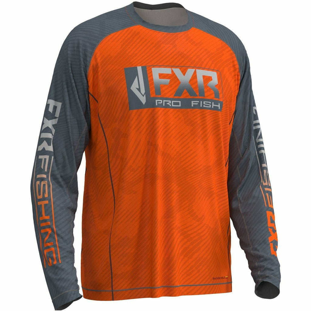 FXR M Strike UPF Longsleeve 20 Casual FXR OFFROAD Orange/Steel 2XL