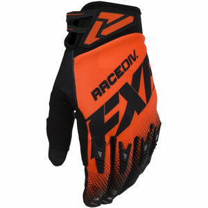 FXR Factory Ride Adjustable MX Glove 20 Gloves FXR OFFROAD Nuke Red/Black S