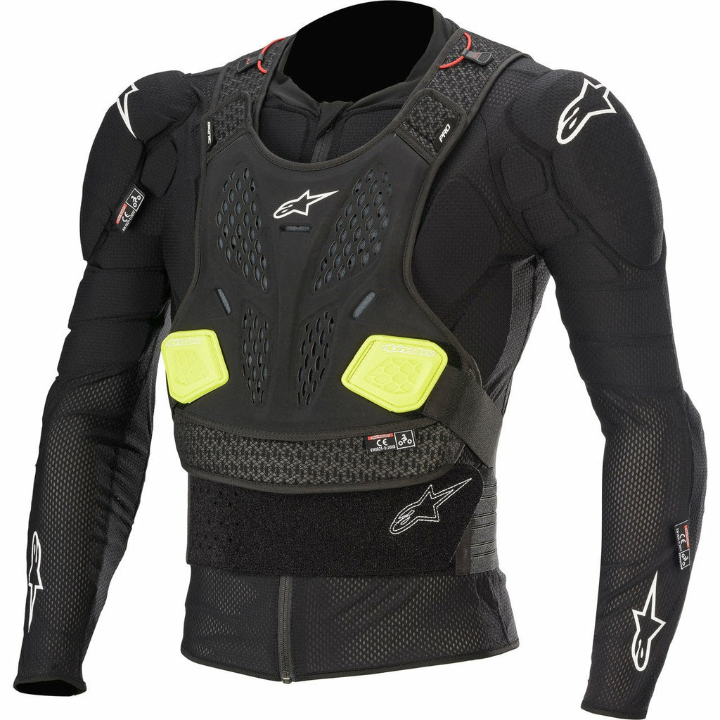 Alpinestars Youth Bionic Plus L/S Jacket ALPINESTARS BLK/FLUO YLW LG