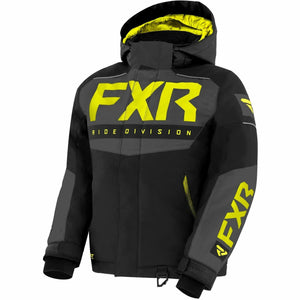 FXR Helium Youth Jacket 21 Jacket FXR Black/Char/Hi Vis 10